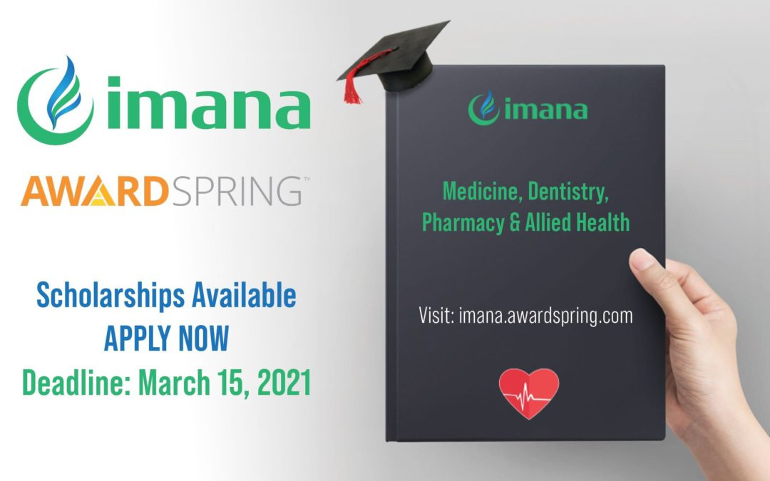 Announcing the IMANA Scholarship Program