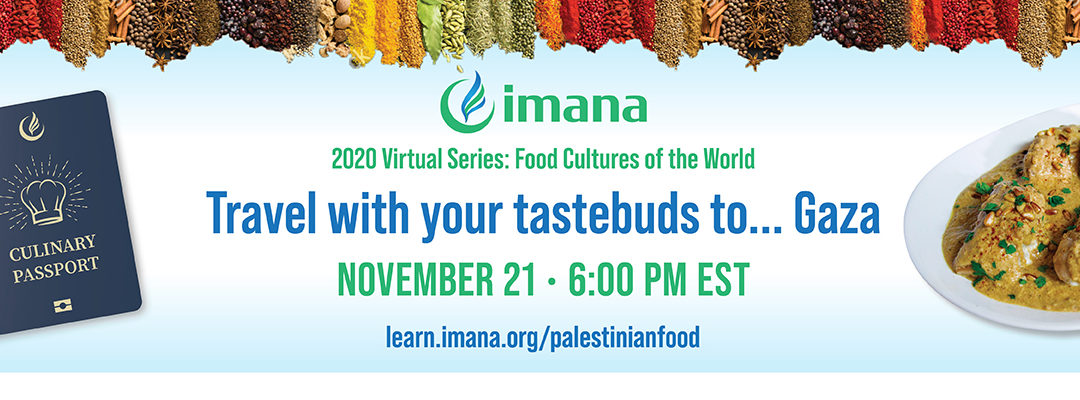 Fall Campaign Event: Travel with your taste buds to… Gaza
